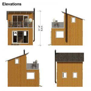 Contemporary Cabin Plans Small Cabin Plans Contemporary Cabin Cabin Plans With Loft