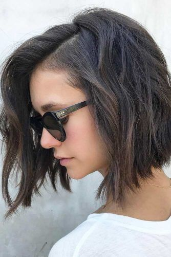Choose The Right Layered Haircuts To Add Volume And Depth To Your Hair See More H Short Hairstyles For Thick Hair Bob Hairstyles For Thick Thick Hair Styles
