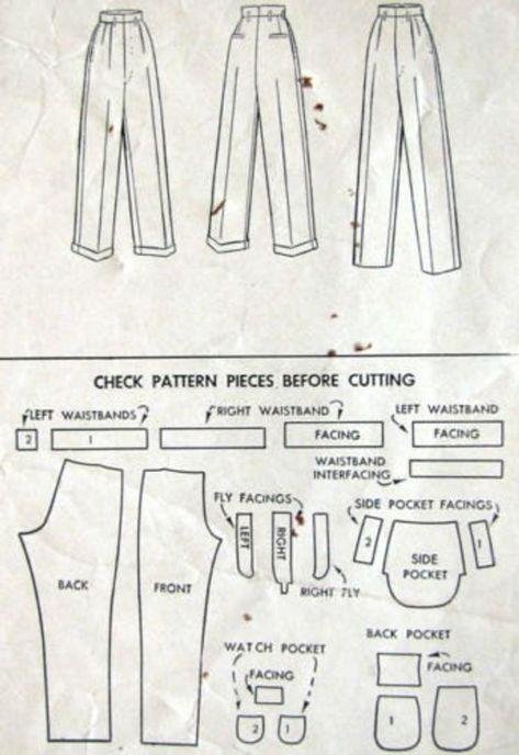 Dress Sewing Patterns, Vintage Sewing Patterns, Clothing Patterns, Pattern Sewing, Sewing Designs, Pattern Drafting, Shirt Patterns, Corset Pattern, Coat Patterns
