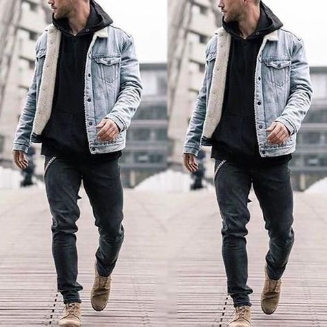 Plus Velvet Denim Jacket Thick Jacket Imitation Lamb Cotton Coat Cotto – Lolayalls
