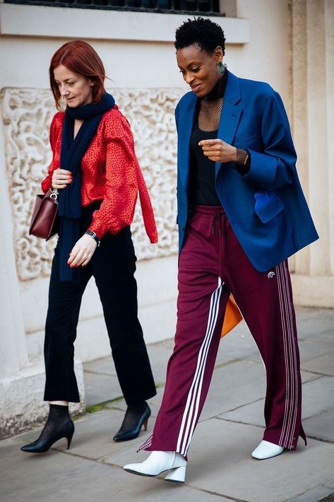 All the best street style looks from London Fashion Week.