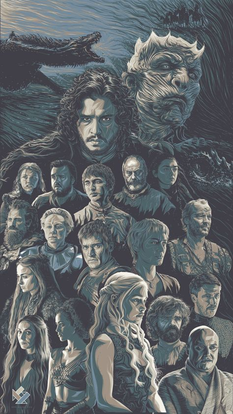 Game of Thrones Art Tribute on Behance
