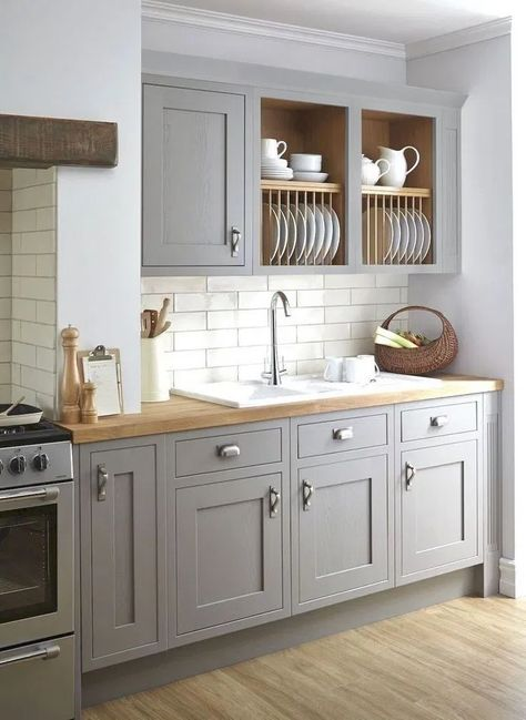 121 creative grey kitchen cabinet ideas for your kitchen -page 2 > Homemytri.Com