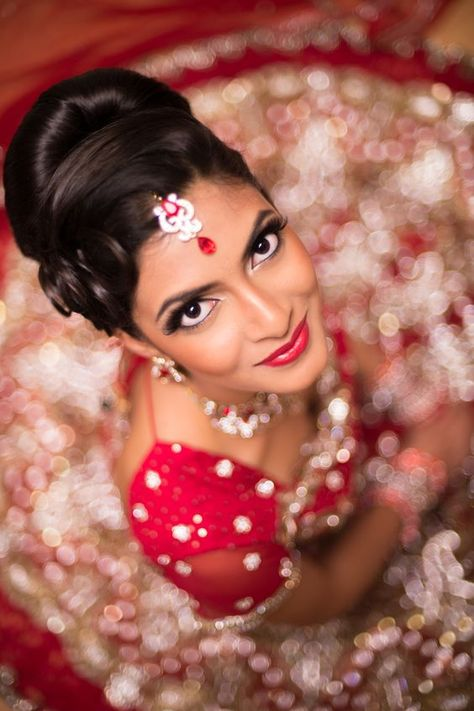 Neutral eys with white corners | Neha Makeup artistry reveals her favourite looks for Indian brides
