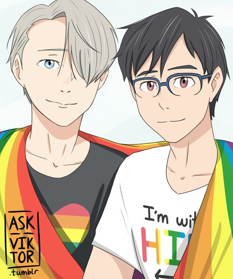 Ask Viktor Anything!   Happy Pride Month!!! more art / answered   ask a...