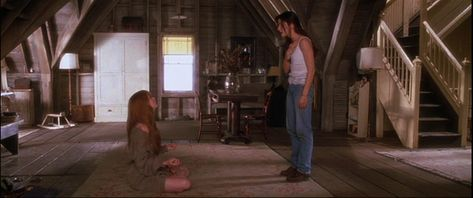 Attic in the house from the movie Practical Magic.