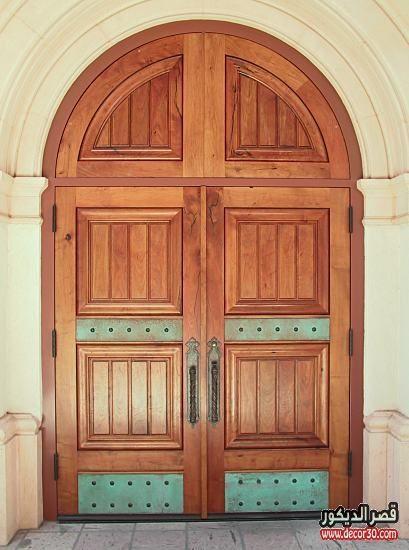 ابواب منازل اشكال ابواب خشب داخلية وخارجية للشقق قصر الديكور Kitchen Interior Design Decor Doors Chapel