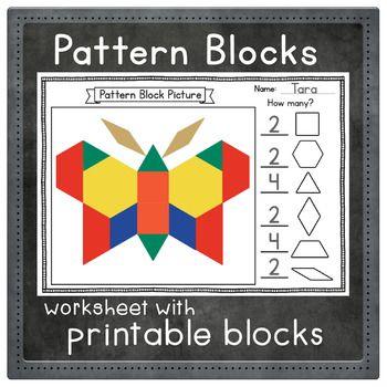 Pin On Math Pattern blocks worksheets