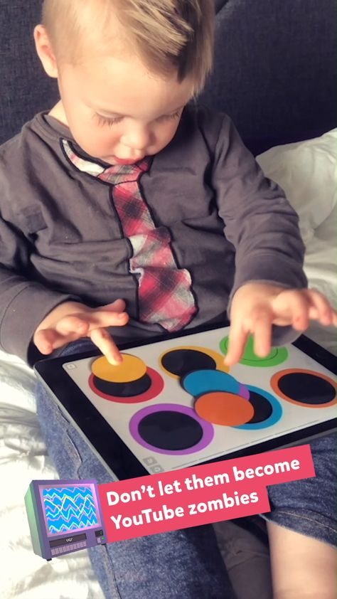 Have him play TinyTap - over 150,000 educational & fun games.