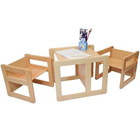 Obique 3 En 1 Mobilier Multifunctionnel Pour Enfants Ensemble De 2 Une Petite Chaise Ou Table Et Un Table Et Chaise Enfant Chaise En Bois Enfant Chaise Enfant