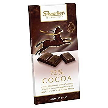 Schmerling S 72 Cocoa 10 Pack Kosher For Passover Swiss Chocolate Review Swiss Chocolate Milka Chocolate Cocoa