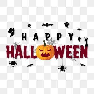 Feliz Halloween 2020 Calabazas De. Halloween Feliz Tipografía De Halloween Con Calabazas Vector, Víspera De