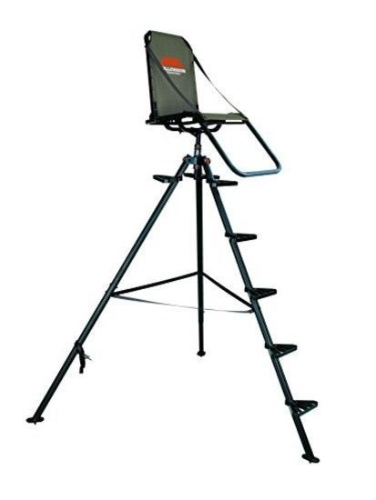 New Millennium Treestands T100 10 Ft Aluminum Tripod Stand Outdoor Hunting Gear Tripod Deer Stand Metal Tree Wall Art Metal Tree