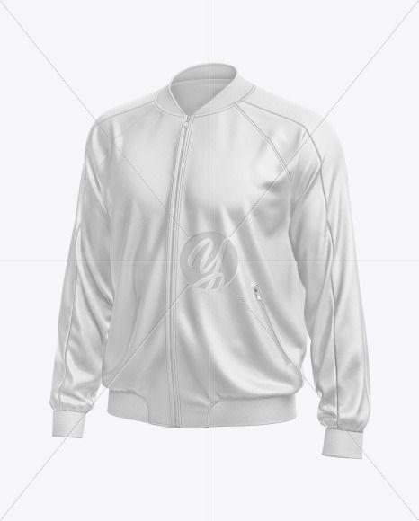 Download Men S Leather Bomber Jacket Mockup In Apparel Mockups On Yellow Images Object Mockups In 2021 Clothing Mockup Mens Leather Bomber Jacket Leather Flight Jacket