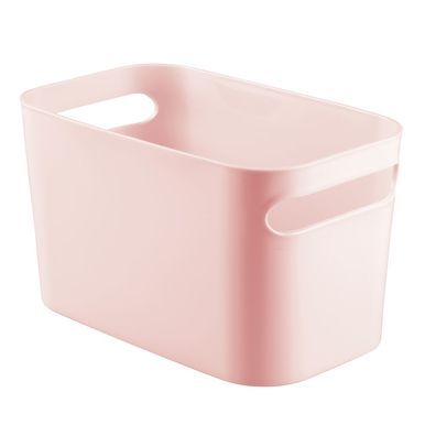 Plastic Bathroom Vanity Storage Organizer Tote Bin 10 X 6 X 6 Toy Storage Bins Storage Bins Bathroom Vanity Storage