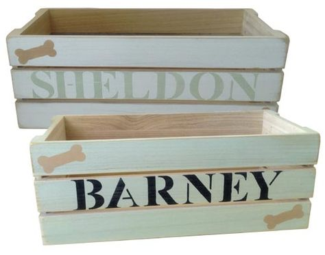 Dynamic Accents All Wood Dog Toy Boxes