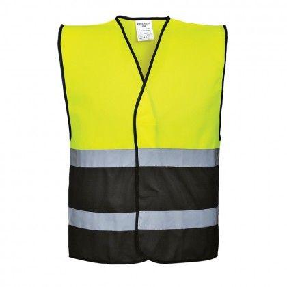 Portwest Workwear Mens Hi-Vis 2-Tone Sweatshirt