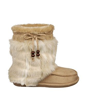 Fuzzy & chic DR.SCHOLL'S #faux #fur #boots BUY NOW!