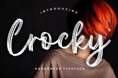 Crocky (Font) by CreatypeStudio · Creative Fabrica