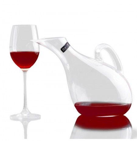Swan Crystal Wine Glass Wine Decanter Lead Free Crystal Wine Bottle Pourer 1200ml In 2020 Glass Wine Decanter Wine Decanter Decanter