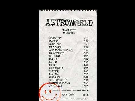 Astroworld Receipt*