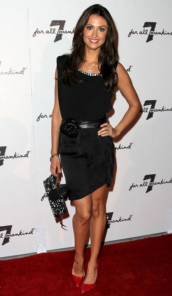 Katie Cleary in 7 For All Mankind 10th Anniversary Celebration