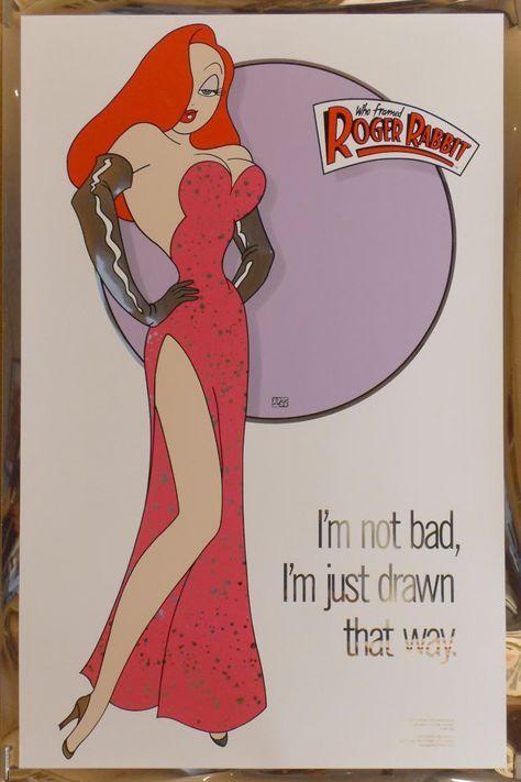 Fancy Who Framed Roger Rabbit Viooz Ensign - Custom Picture Frame ...