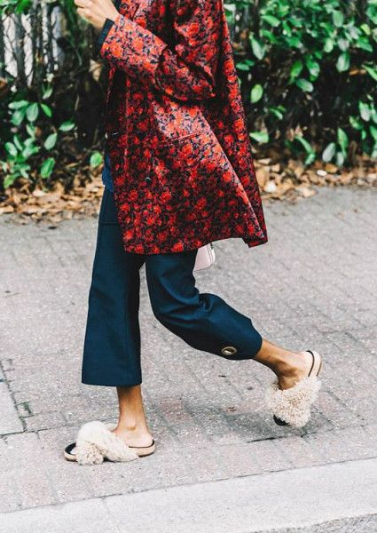 Fluffy Detailing - How to Spice Up Your Wardrobe with Maximalist Shoes  - Photos