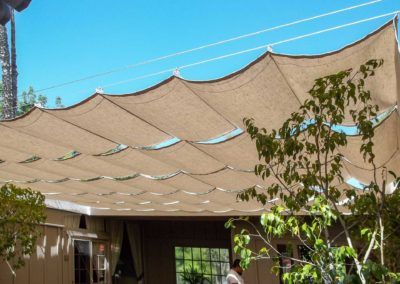 Slide On Wire Retractable Awnings Custom Made The Awning Company In 2020 Retractable Awning Awning Fabric Awning