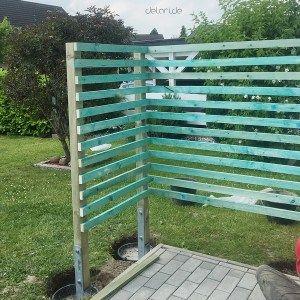 Terrassenumrandung Sichtschutz Diy Selberbauen Materialliste Terrasse Umrandung Diy Garten Diy Gartenbau