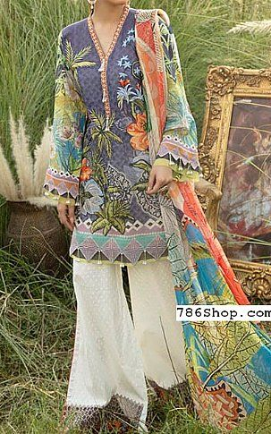 Blueberry Swiss Voile Suit Buy Adans Libas Pakistani Dresses And Clothing Online In Usa Uk Pakistani Dresses Fashion Pants Dresses