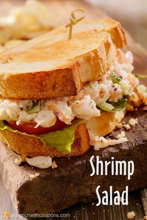Shrimp Salad Recipe The Best Recipes Pinterest Salad