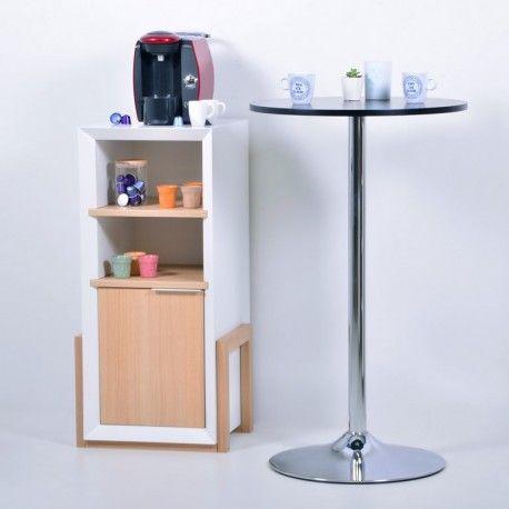 ikea meuble pour poser la machine a cafe