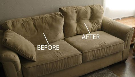 They Were Going To Throw Away Their Saggy Couch Until They Found This 1 Trick With Images Fix Sagging Couch Couch Makeover Couch Cushions