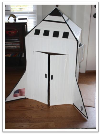 Recursos El Universo Ii Paperblog Naves Espaciales Para Niños Cohete De Cartón Cohetes Espaciales