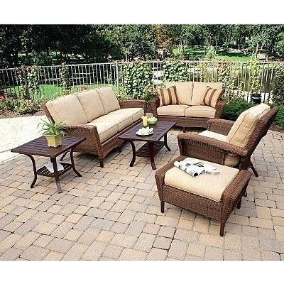 Martha Stewart Living Charlottetown Wicker Patio Furniture Patio Cushions Outdoor Clearance Patio Furniture Patio
