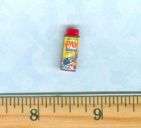 DOLLHOUSE Miniatures 1:12 Miniature Brand Peanut Butter//Strawberry Preserves