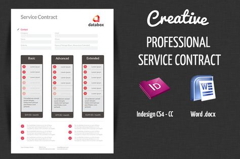 Professional Service Contract Professional services, Stationery - service contract in word