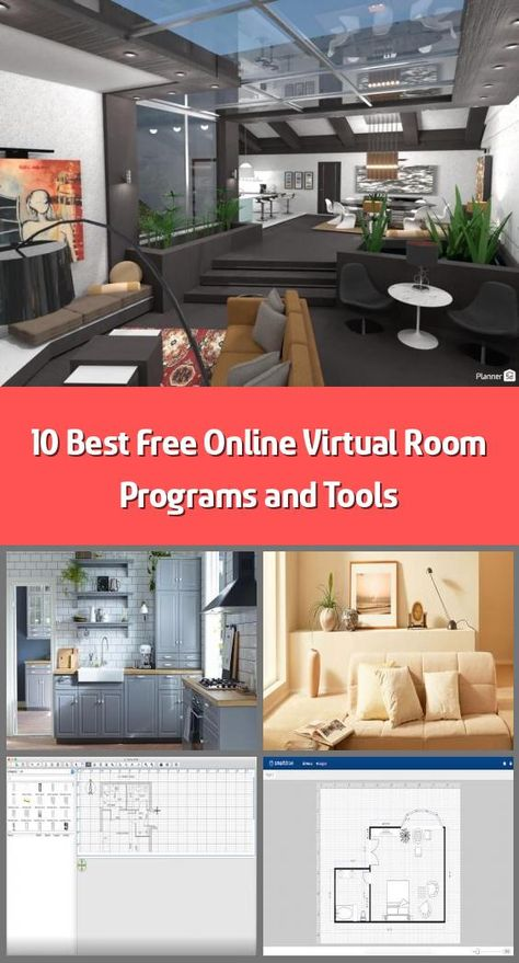 10 Best Free Online Virtual Room Programs And Tools In 2020 With