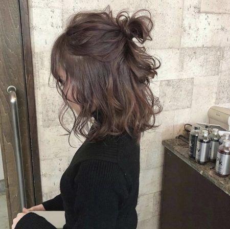 動画 簡単ハーフアップお団子へアアレンジのやり方15選 髪型