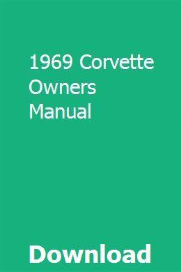 CORVETTE MANUAL 2008 OWNERS CHEVROLET BOOK