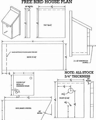 Image Result For Free Birdhouse Plans Barn Printable Bird House Plans Bird House Plans Free Bird House