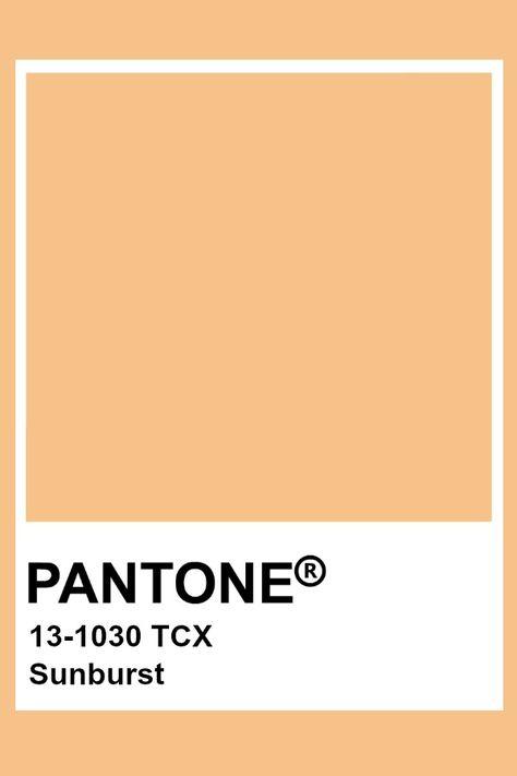 Pantone Sunburst