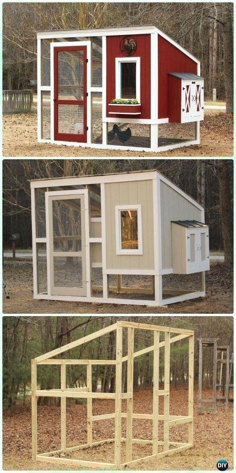 Diy Wood Chicken Coop Free Plans Chicken Coop Pallets Easy Diy