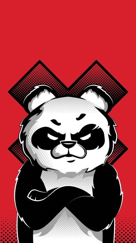 Bad Panda - iPhone Wallpapers