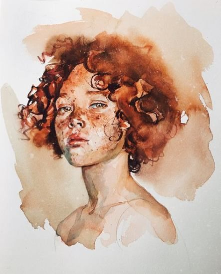 Painting Portrait Watercolor Inspiration 61 Ideas For 2019