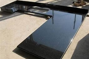Image Result For Shiny Laminate Countertops Black Granite