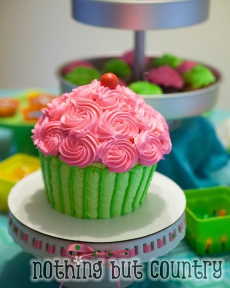 cupcake cupcake wars birthday party nothingbutcountry com