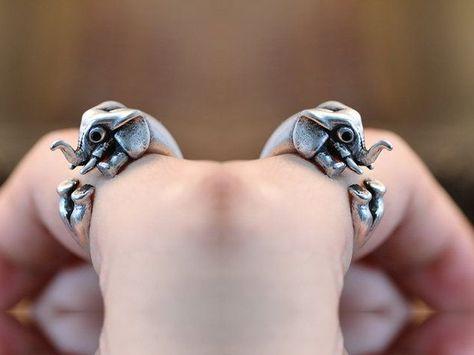Elefant Ring ♥ Verstellbar von ISTANBLUE auf DaWanda.com
