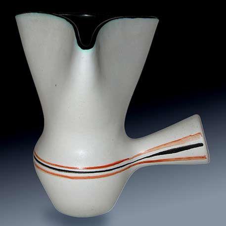 Folded Rim Ceramic Pot Capron Ceramic Pot Ceramics